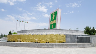 Ruhnama is the national book written by Turkmenbashi, the former president