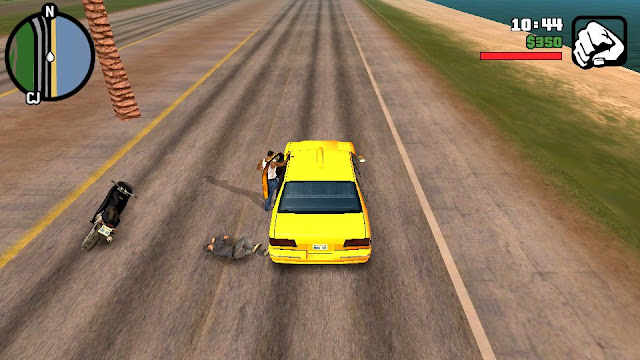 Hijack Cars While in Bike Cleo Mod Android Mike Kethens gtainside gtaam blogspot com download free