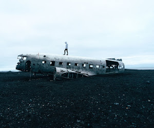 Abandoned aircraft airplane