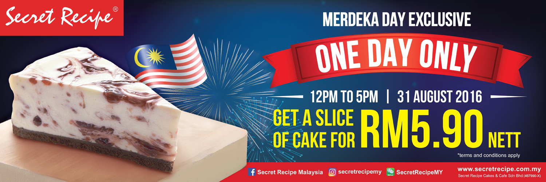 secret recipe menu cakes and price malaysia