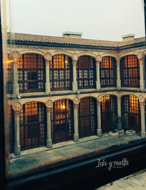 Parador Zamora claustro