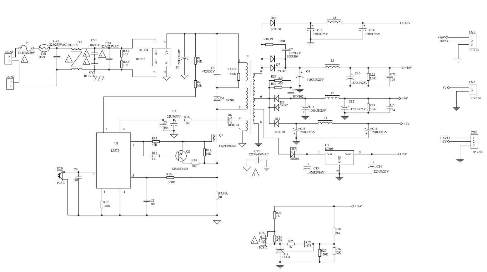 Caixa Mf 580 Usb Fm Schematic Tda2030a Lm833 Cd4558 Circuit Diagram
