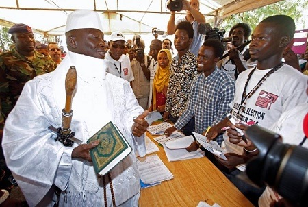 BREAKING News: Gambia's President Jammeh Rejects Election Result, Calls for Fresh Poll