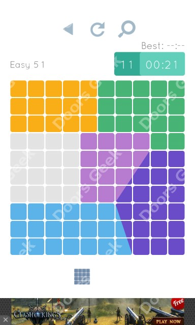 Cheats, Walkthrough for Blocks and Shapes Level 51