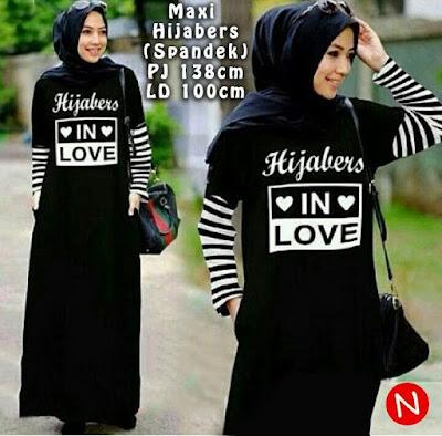 Jual Maxi Dress Maxi Hijabers - 12334