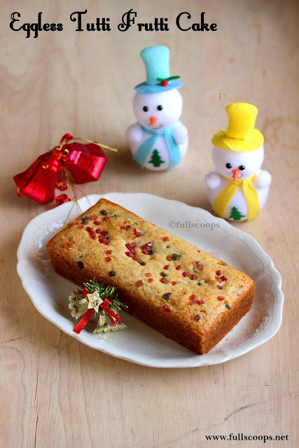 Eggless Fruit Cake Recipe Without Condensed Milk