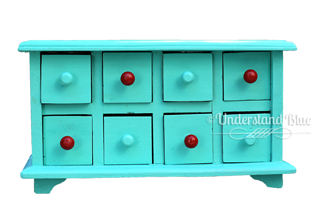 Colorique Drawer Pulls by Understand Blue