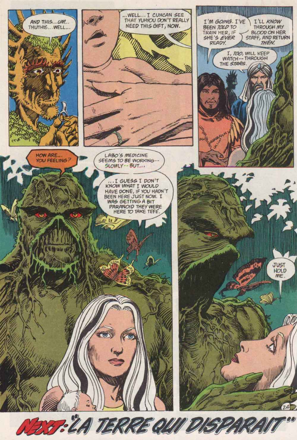 Swamp Thing (1982) Issue #91 #99 - English 23