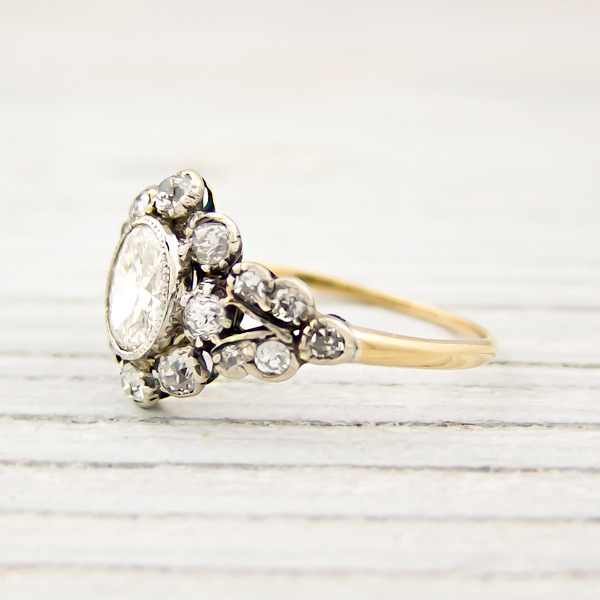 erstwhile jewelry vintage victorian engagement ring 7879 - {Frosted Find}  Erstwhile Jewelry