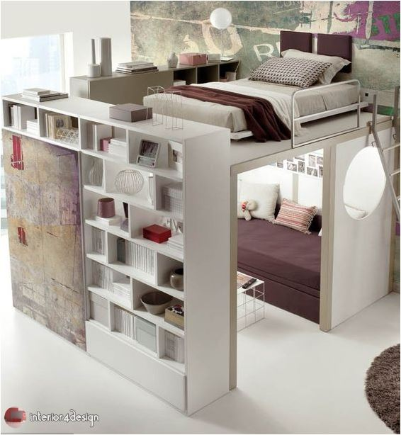 Colorful Teenagers Bedrooms 11