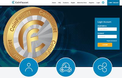 CoinFaucet, le site pour gagner gratuitement des Ripple