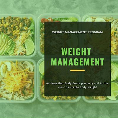 SERVICE : WEIGHT MANAGEMENT PROGRAM