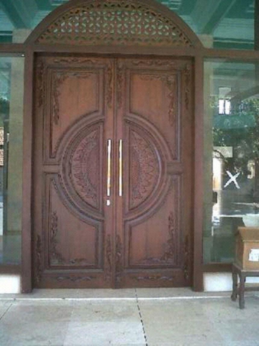 pintu kupu tarung lengkung 2