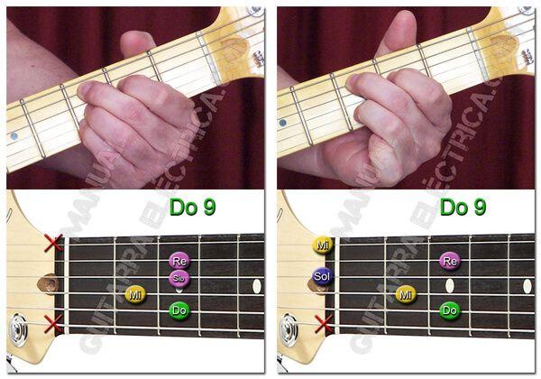 Acordes de Novena para Guitarra