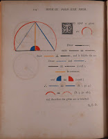 Simple proof illustrated with colored shapes