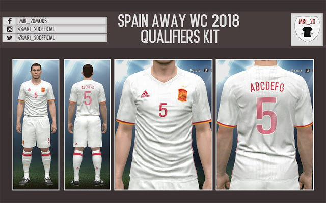 PES 2017 Spain New WC 2018 Qualifiers Kits 7e3660b8d