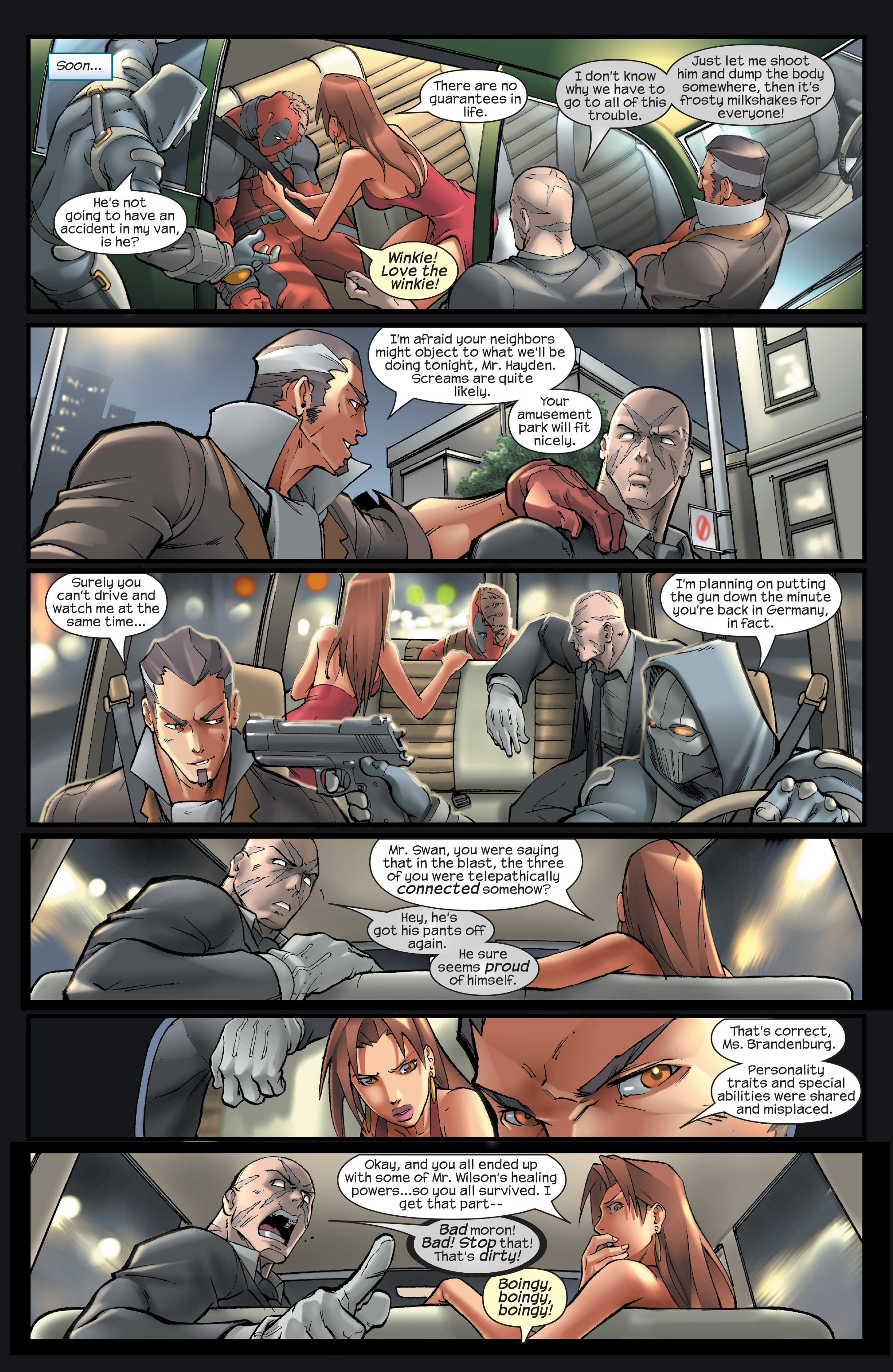 Read online Agent X comic -  Issue #14 - 12