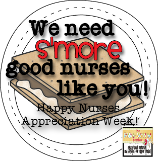 The Polka-dotted Teacher: Teachers/Nurses Appreciation ...