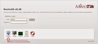 cara download winbox Cara Menggunakan Winbox Mikrotik