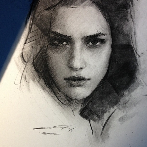 16-Casey-Baugh-Portrait-Drawings-of-Charcoal-Studies-www-designstack-co