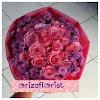 Bunga Tangan Mawar Lokal Pink