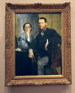 Degas, Edmondo and Therese Morbilli