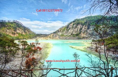 Paket wisata kawah putih dari ngawi