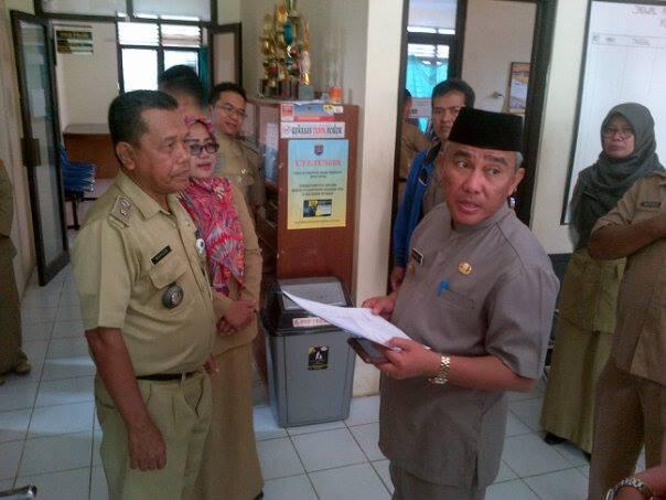 Hari Pertama Kerja, Walikota Sidak 5 Kelurahan