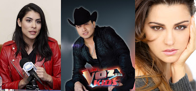 Los Co-Coaches de La Voz Kids México