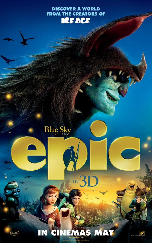 3 Nuove Locandine del film d'animazione Epic : Film Cinema