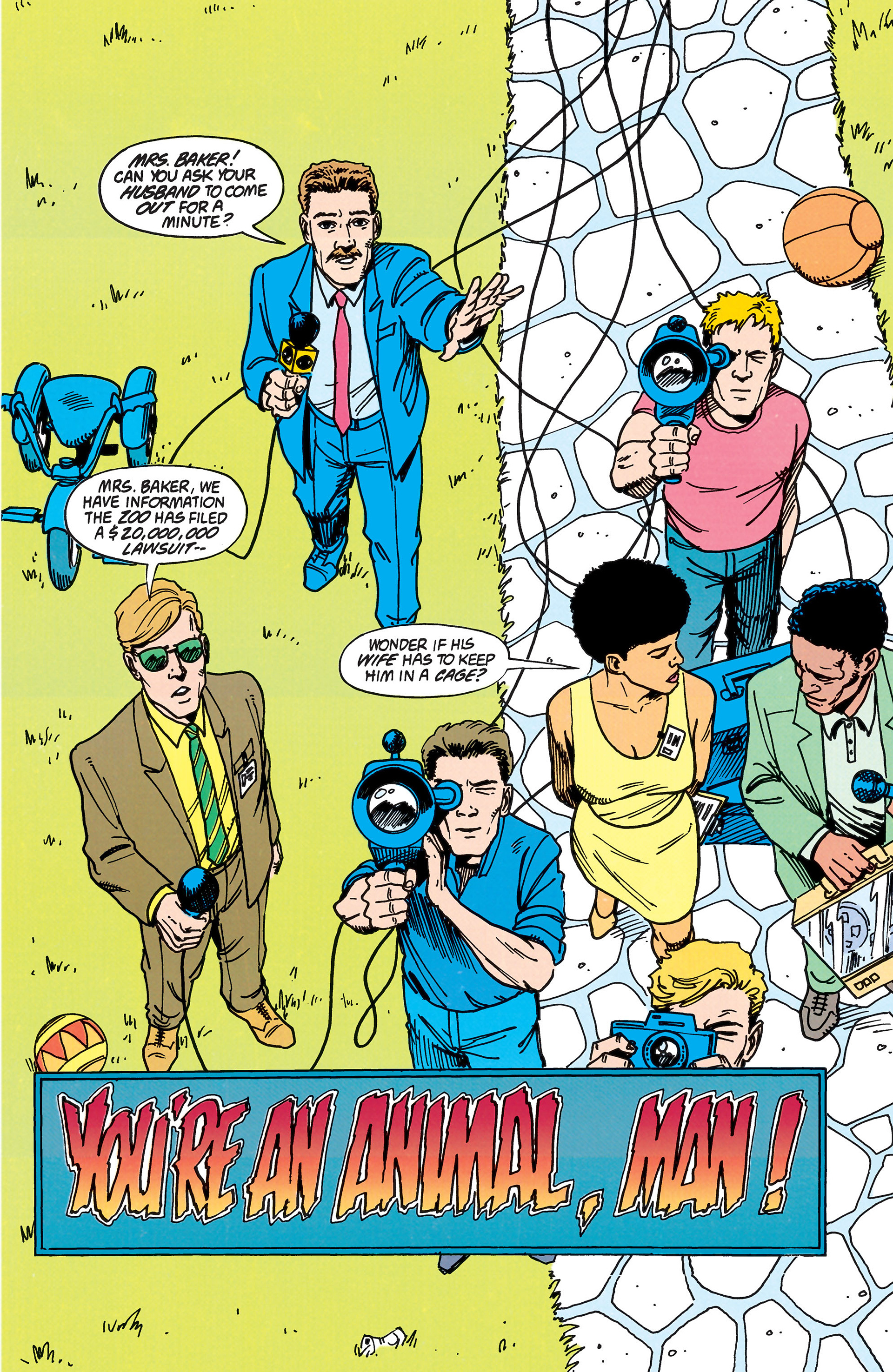 Read online Animal Man (1988) comic -  Issue #38 - 7