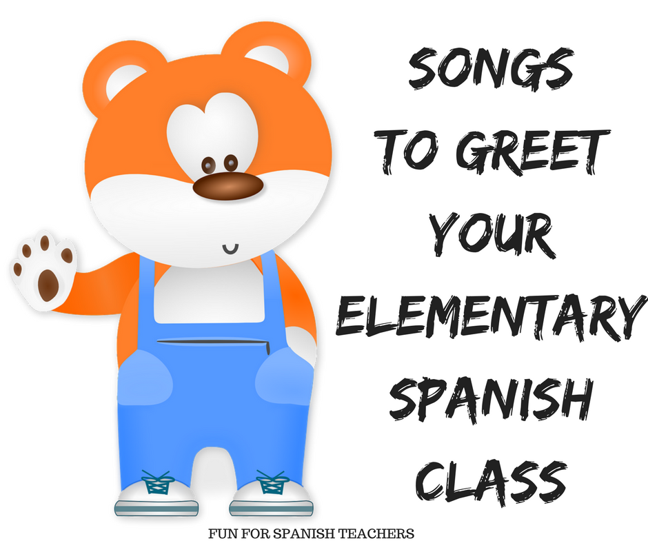 Songs to greet your elementary spanish class funforspanishteachers i consider myself lucky that i get to see my students for 5 days out of a seven day cycle schedule i see my kindergarten students for 25 minutes per class m4hsunfo