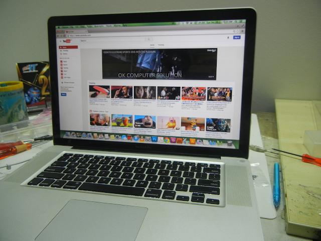 Wi-Fi TAK DETECT MACBOOK PRO | KEDAI REPAIR MACBOOK 9