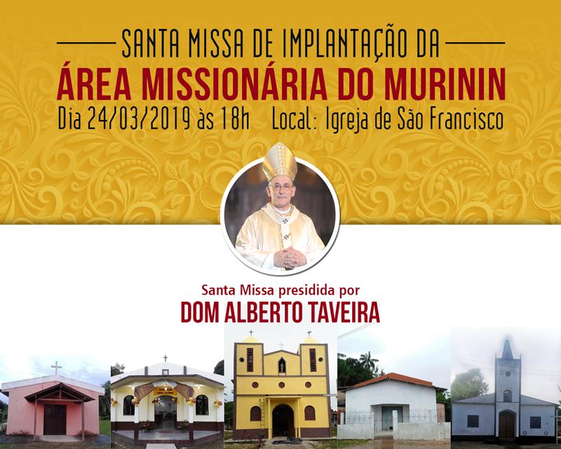 área missionária do murinin