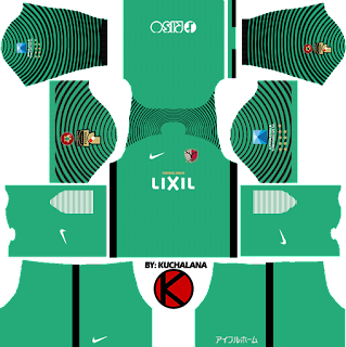 Kashima Antlers 鹿島アントラーズ 2017 - Dream League Soccer Kits