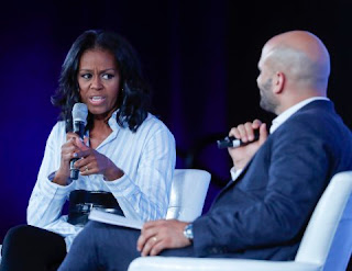 Former First Lady Michelle Obama lashes out at President Trump