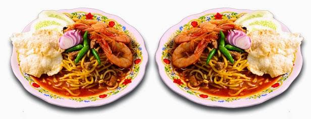 Mie makanan khas Aceh