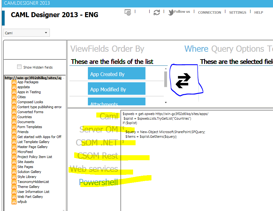 caml query builder sharepoint 2013 free download