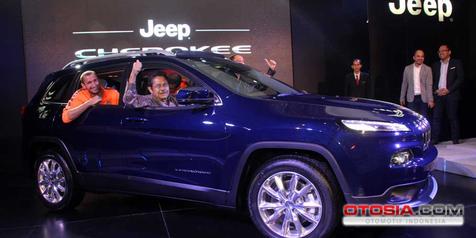 All-New Jeep Cherokee Tebar Pesona di Mal Elit Jakarta