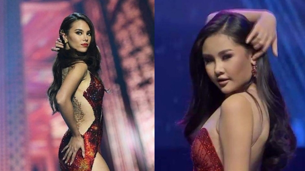 "Miss Vietnam seemed to ""copy"" Miss Universe Catriona Gray's lava walk"