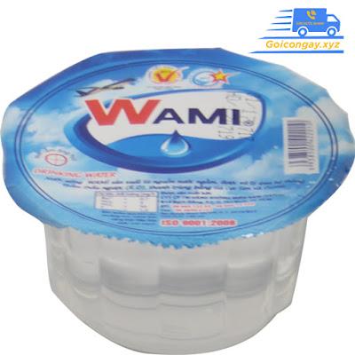 nước đóng ly wami