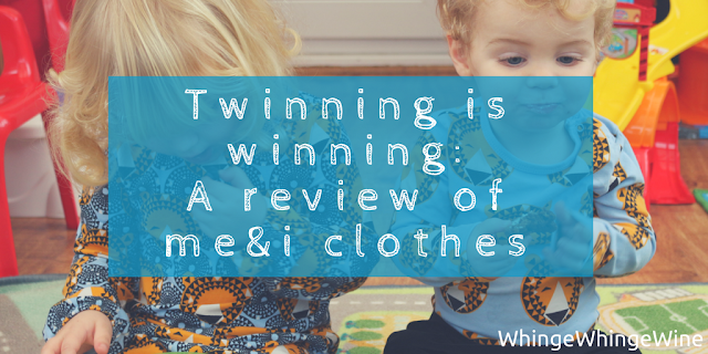 We review me&i clothes who sell adult and children clothing in Scandi bright and bold, unisex prints