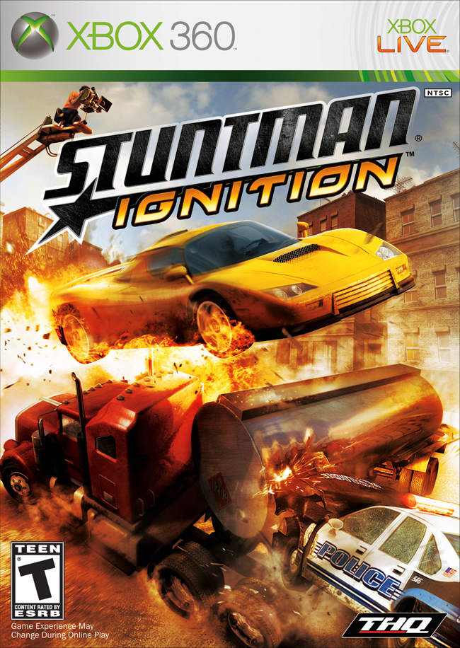 Stuntman Ignition US ESRB X360 - Stuntman Ignition xbox 360