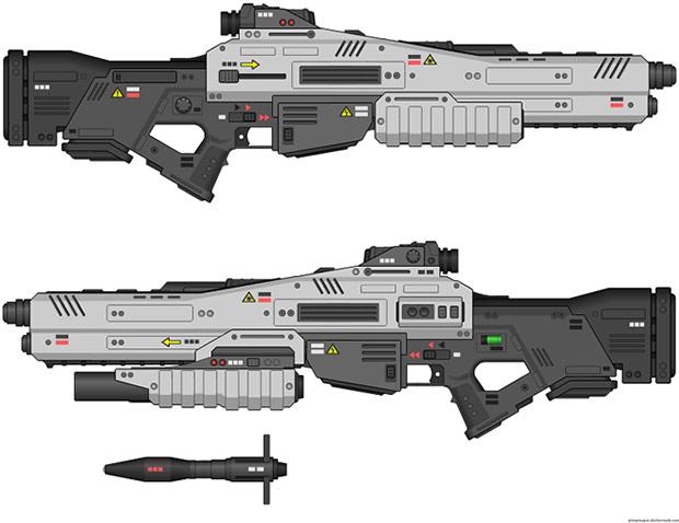 Dark Space Blogspot: Arriva Il Fucile Laser ZKZM-500