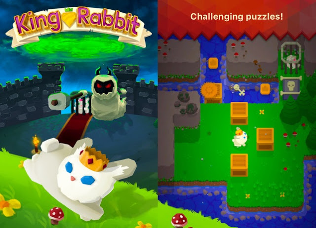 This week AppleStore has highlighted King Rabbit as 'Free App of the Week' on AppStore
