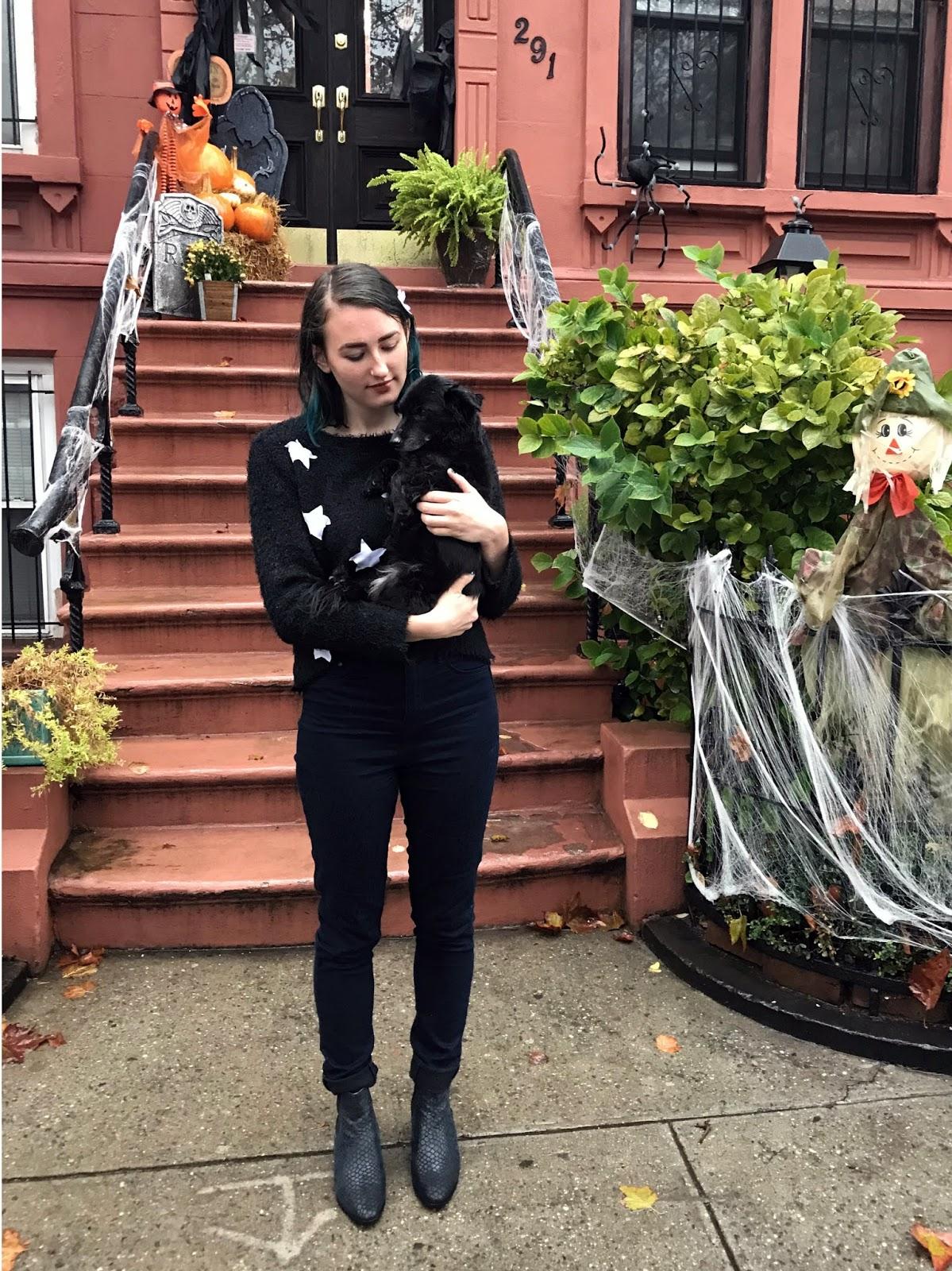 broke & fabulous: halloween 2017: coraline and the cat