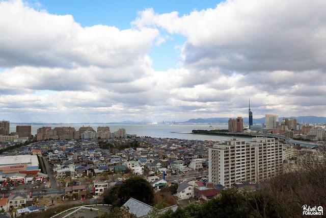 愛宕神社からの風景、福岡