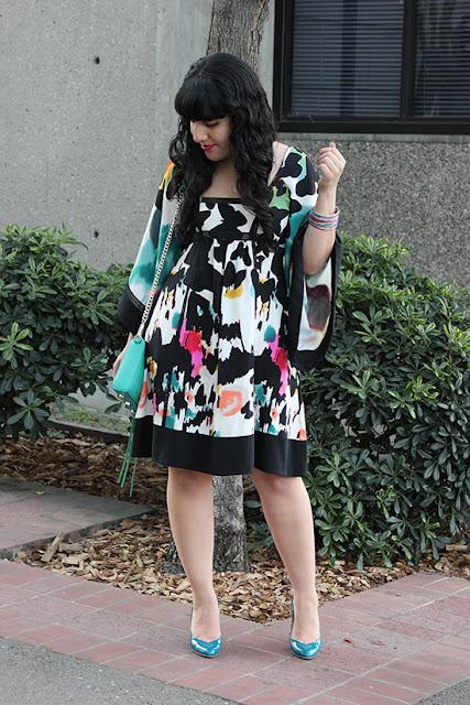 Diane von Furstenberg Leena Dress Art Gallery Office Outfit