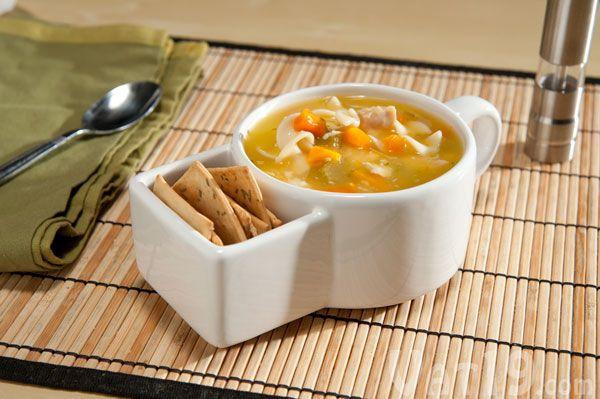 Soup and Crackers Mug