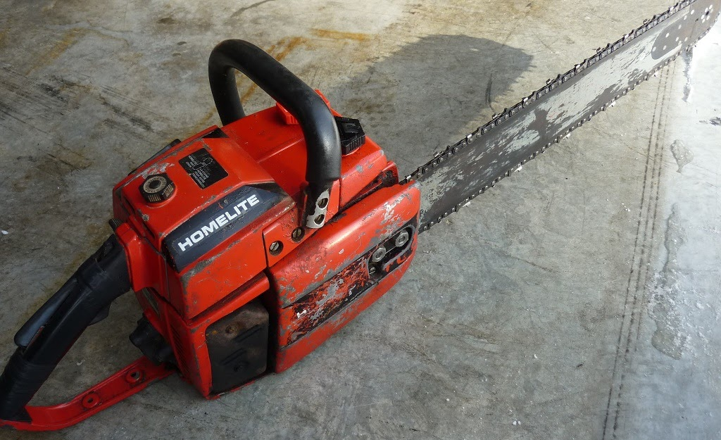 Vintage Chainsaw Collection Homelite 350p